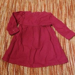 Old navy fall cord dress 6 12 month baby girls